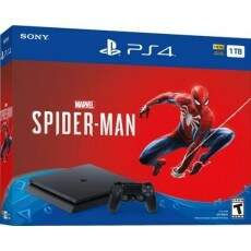 Playstation 4 Slim 1TB Spider Man
