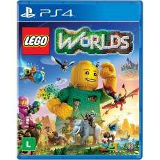 Lego Worlds - Ps4 (Seminovo)