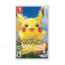 Pokemon Let´s Go Pikachu - Nintendo Switch (Seminovo)