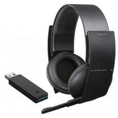 Headset Wireless Stereo Sony 7.1 Pulse - Ps3