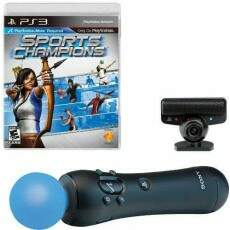 PlayStation Move + Bundle Sports Champions - Ps3