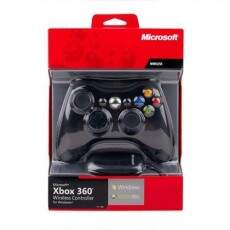 Controle Wireless com Adapdator PC - Preto - XBOX 360 / PC