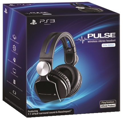 Wireless Stereo Headset 7.1 Pulse Elite Edition Sony
