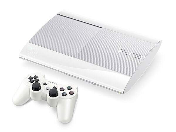 Playstation 3 500Gb Crystal White Limited Edition Bundle