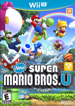 New Super Mario Bros U - Wii U