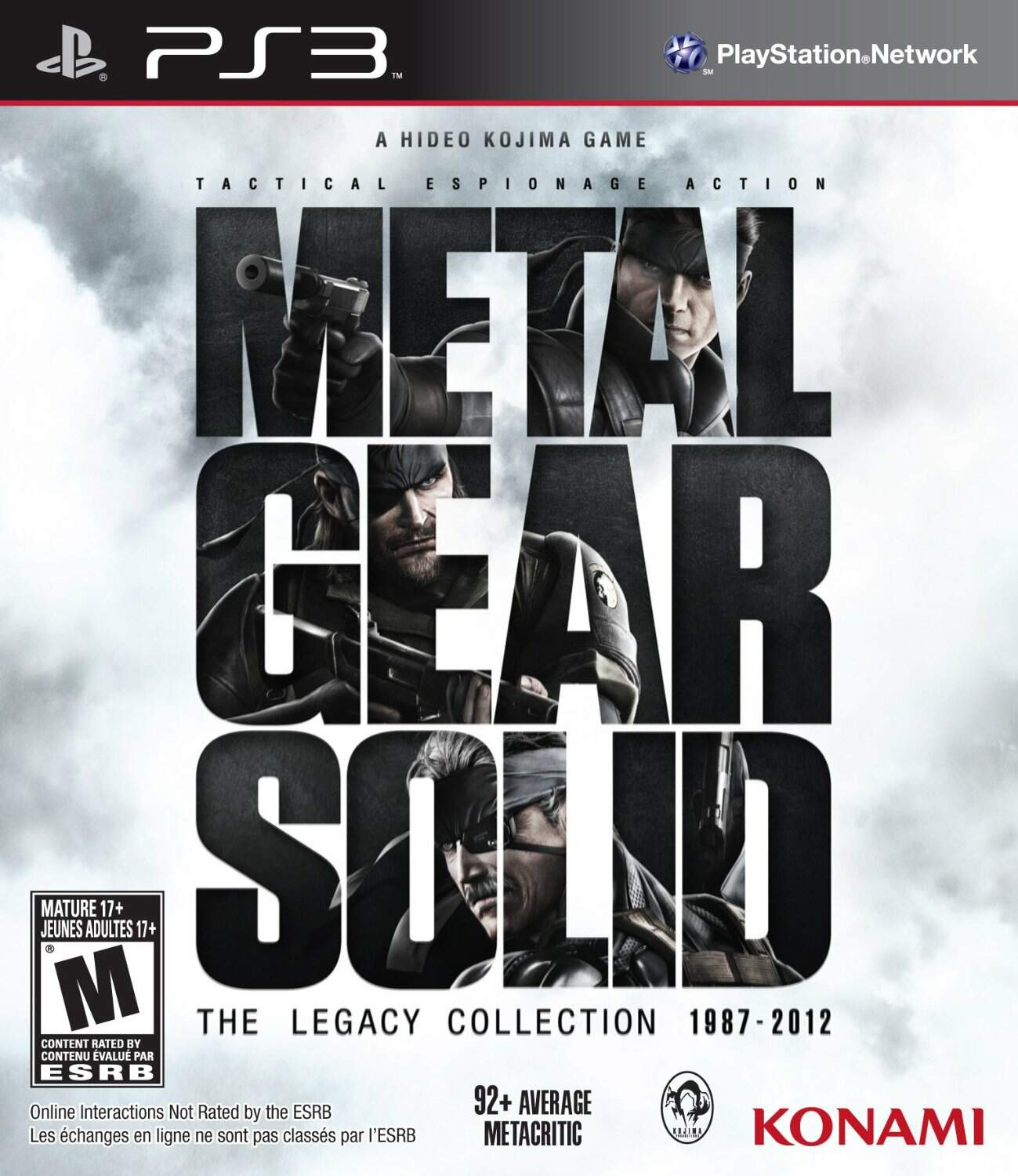 Metal Gear Solid: The Legacy Collection - Ps3