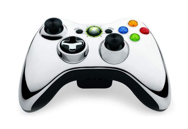 Wireless Controller Chrome Series - Xbox 360