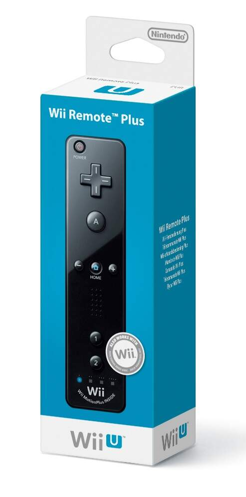 Remote Motion Plus (Preto) - Wii U