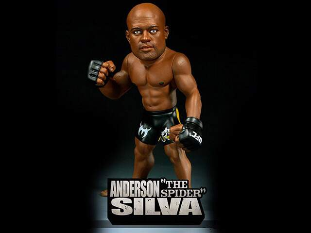 Boneco Ufc Ultimate Collector - Anderson Silva