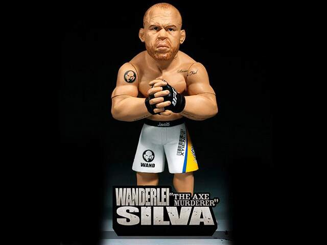 Boneco Ufc Ultimate Collector - Wanderlei Silva