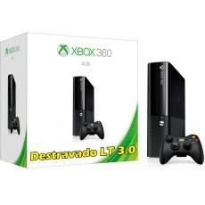 Novo Xbox 360 4Gb Super Slim + (Destravamento Lt 3.0)