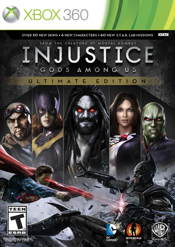 Injustice: Gods Among Us - Ultimate Edition - Xbox 360