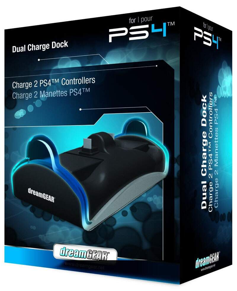 Dual Charge Dock Charger DreamGear - Ps4