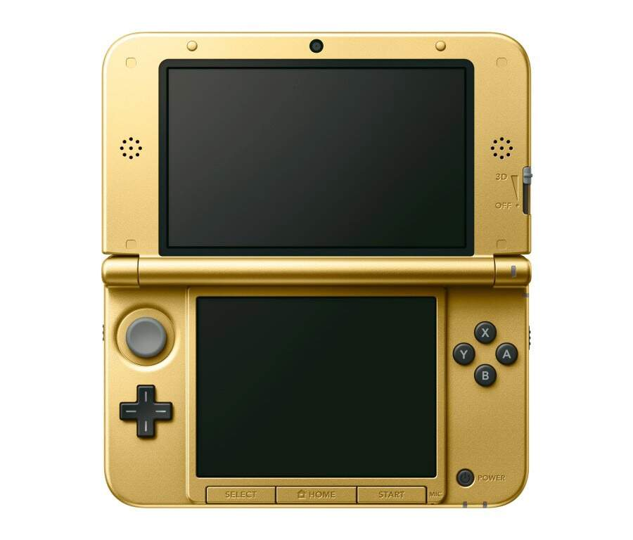 Nintendo 3Ds XL Gold - Edição Limitada Bundle The Legend of Zelda: A Link Between Worlds