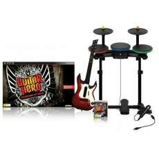 Super Bundle Guitar Hero Warriors Of Rock - Ps3