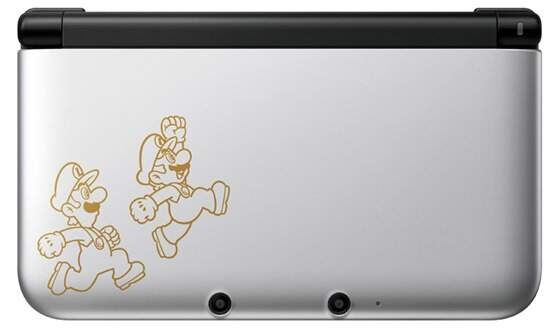 Nintendo 3Ds XL + Mario & Luigi Dream Team - Prata