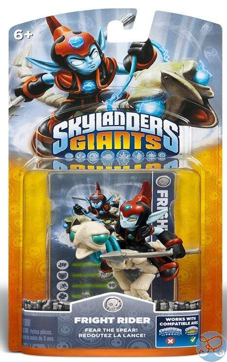 Skylanders Giants Fright Rider