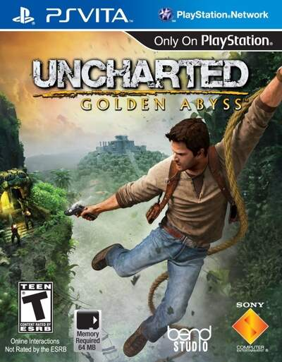 Uncharted: Golden Abyss - PsVita