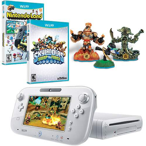 Nintendo Wii U - Skylanders Swap Force Basic Set 8Gb