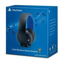 Headset Gold Wireless Stereo - Ps4