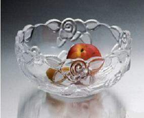 SALADEIRA ROSE GLASS BOWL PRESTIGE