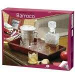 CONJUNTO DECANTER BARROCO