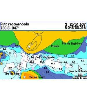 Carta Nautica Digital 3D Garmin BlueChart G2 Vision