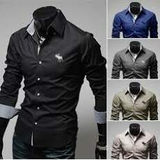 Camisa Masculina Slim Fit
