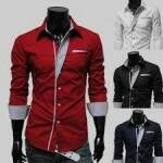 Camisa Masculina Fashion Slim Fit