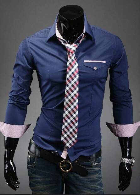 Camisa Masculina Slim Fit Luxury