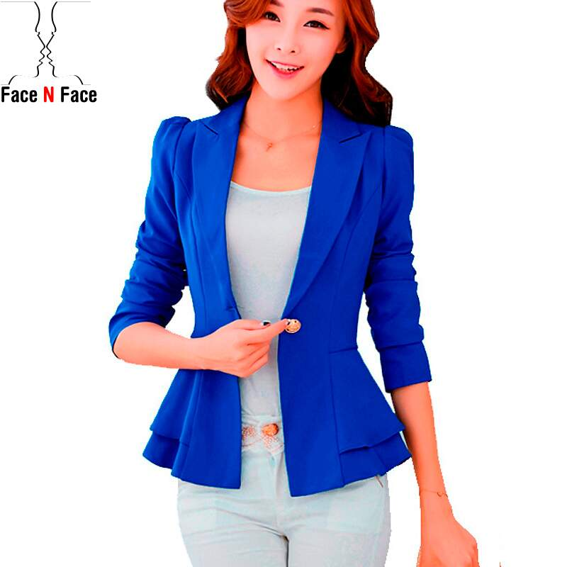 Blazer Feminino Candy Colors