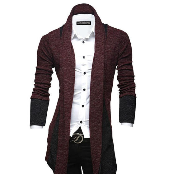 Cardigan Masculino Slim Fit
