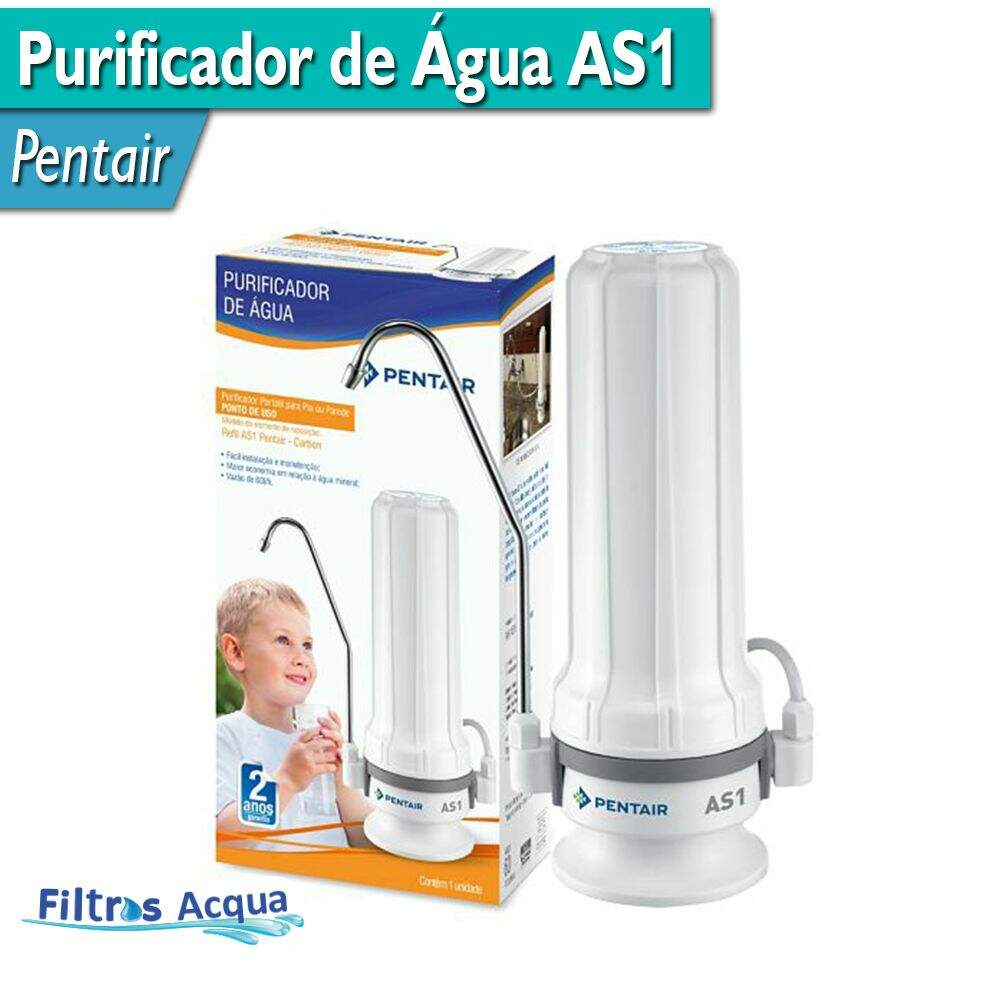 Filtro Purificador As1 - Pentair - 916-0003