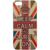 Capa para iPhone 5 Keep Calm Colorida