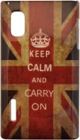 Capa para LG Optimus L5 Keep Calm