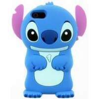 Capa Stitch Silicone 3D Disney para iPhone 5
