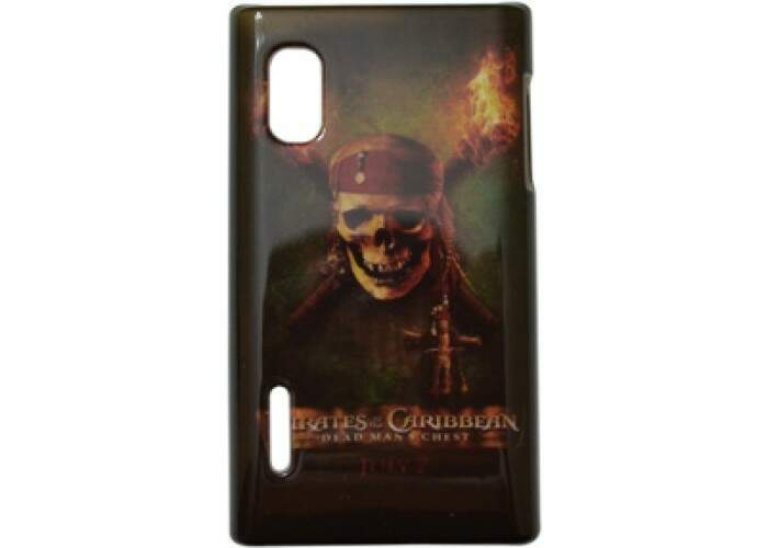 Capa para LG Optimus L5 Piratas do Caribe