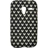 Capa para Samsung Galaxy Ace Plus Mickey Fundo Preto
