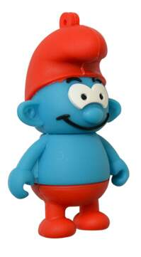 Pen Drive Papai Smurf 4GB