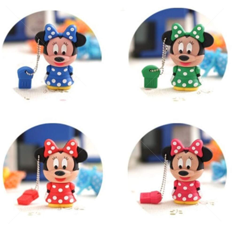 Pen Drive Divertido Minnie Vestido 4GB