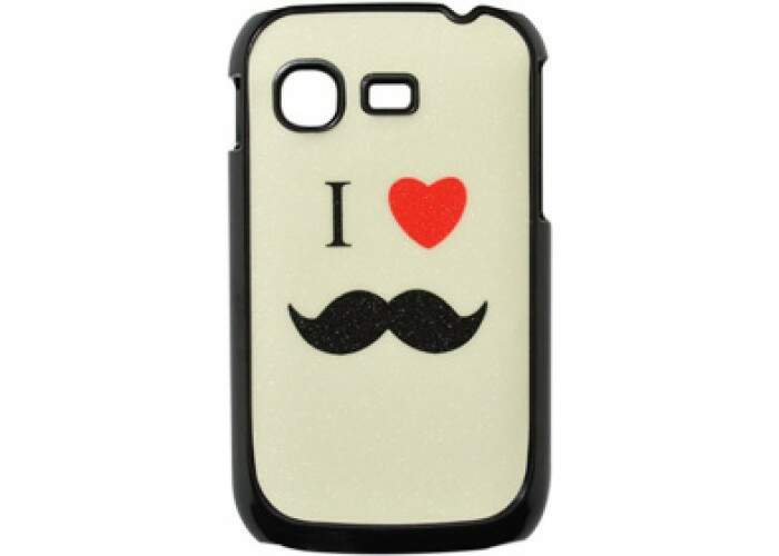 Capa para Samsung Galaxy Pocket I Love Mustache