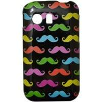 Capa para Samsung Galaxy Y Mustaches Color
