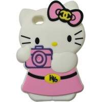 Capa para iPhone 4/4S Hello Kitty Foto 3D