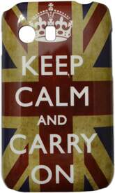 Capinha para Samsung Galaxy Y TV Keep Calm