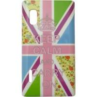 Capa para LG Optimus L5 Keep Calm Flores