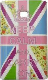 Capa para LG Optimus L3 Keep Calm Flores