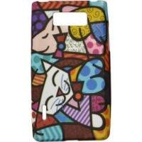 Capa Romero Britto Happy Cat para LG Optimus L7