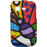 Capa Romero Britto Butterfly para Samsung Galaxy Pocket