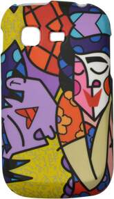 Capa Romero Britto In Love para Samsung Galaxy Pocket