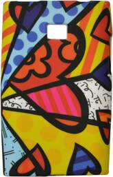 Capa Romero Britto A New Day para LG Optimus L3